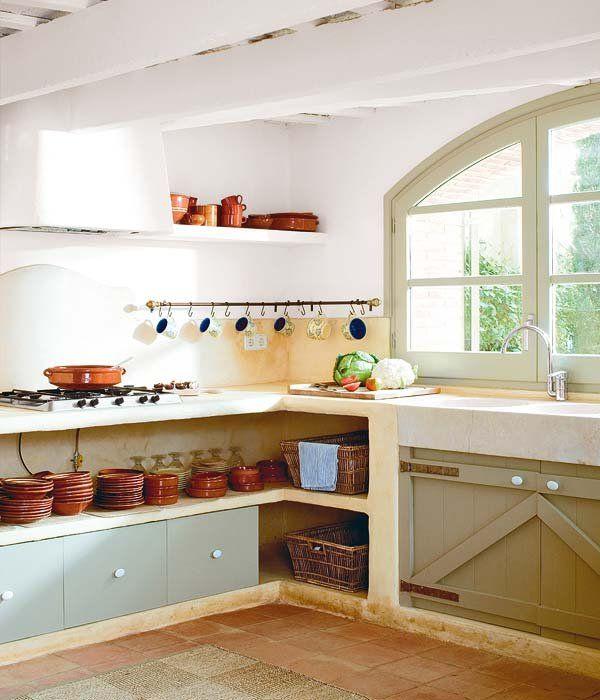 cocinas estilo campo en pinterest - Buscar con Google mi casa revista.com Estilo rustico