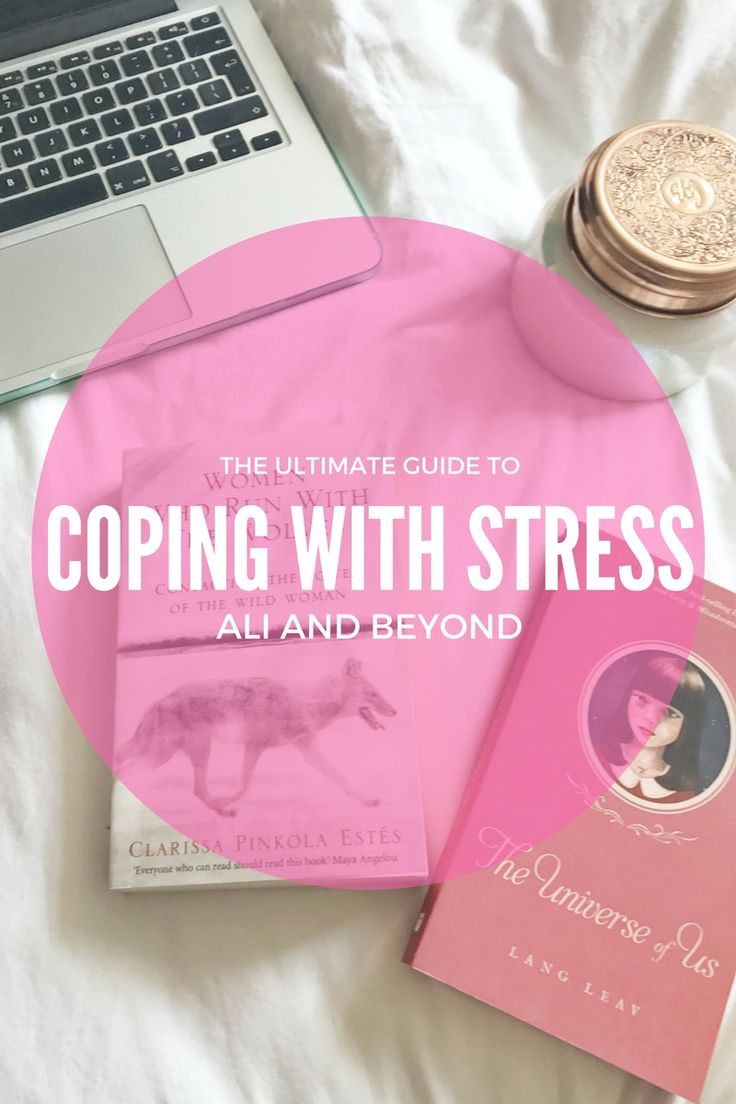 The Ultimate Guide to Coping With Stress // Ali and Beyond. Tips and Tricks on how to de-stress and help yourself to relax. Instagram: @aliandbeyond.