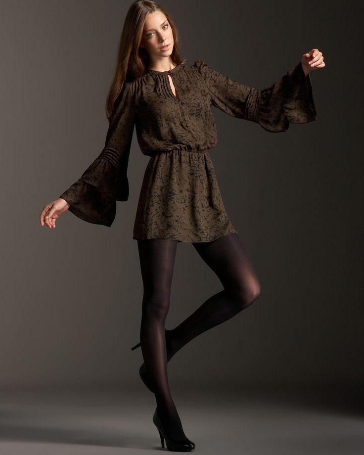 People 1200x1500 women model high heels pantyhose dress