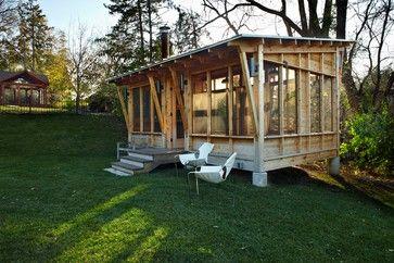 Modern Landscape gazebos Design Ideas, Pictures, Remodel and Decor