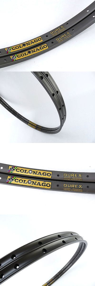 Rims 177821: Colnago Rim Set Ambrosio 32 Hole Durex Vintage Track Bicycle Tubular Nos BUY IT NOW ONLY: $311.2