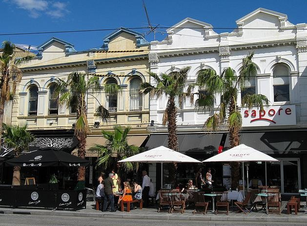 Fitzroy Street in St Kilda are a great base for some people-watching.
