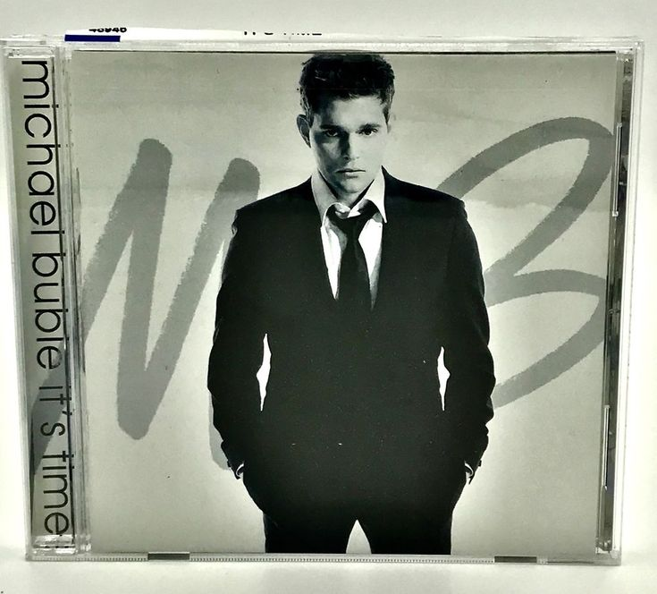 Michael Bublé It's Time CD 2005 13 Tracks Songs Music  VGC Hits Classics