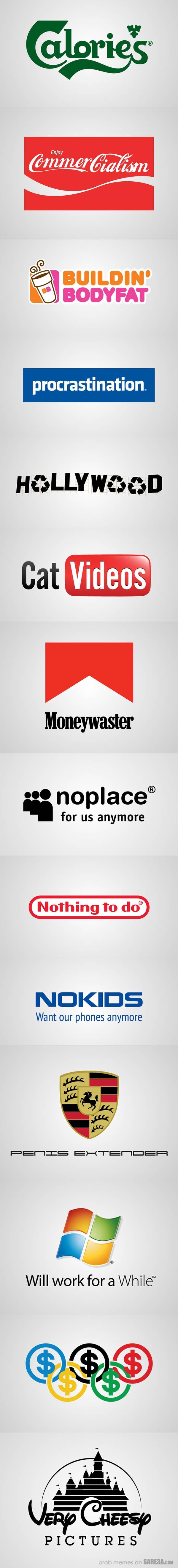 Logo Parody – Funny Designs