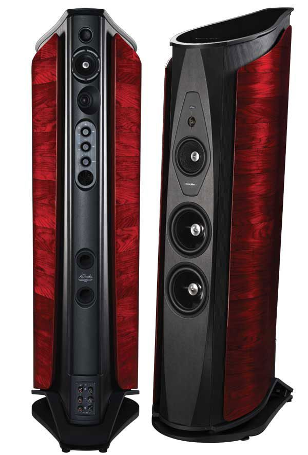 Sonus Faber Aida - These things are massive in real life.