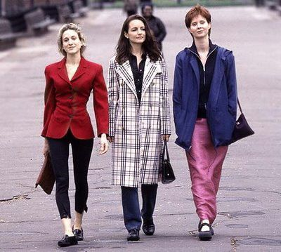 The 90s were very care free and self expressive. Many wore what the pleased.  Google Image Result for http://thefashiontag.files.wordpress.com/2012/04/90s-fashion-revival3.jpg