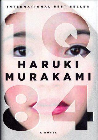 1Q84, an eerie, interesting, and incredibly descriptive novel.Worth Reading, Harukimurakami, Sadducees Murakami, Book Worth, 1Q84, Chips Kidd, Book Covers, Reading Lists, Book Jackets