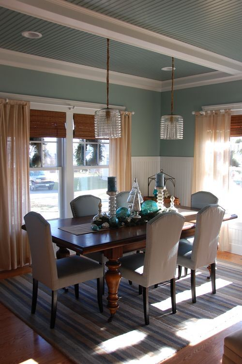 1000 images about dining room makeover on pinterest for Dining room table not centered under light