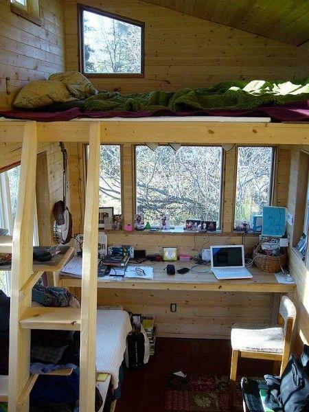 Kevins Alaska Tiny House Interior