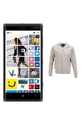 Mobile nu Nokia PACK LUMIA 830 NOIR + 1SWEAT HODDIEBUDDIE AVEC ÉCOUTEURS ET MICRO INTÉGRÉS offert - LUMIA 830 NOIR+ SWEAT CONNECTE prix promo Darty 349.90 € TTC