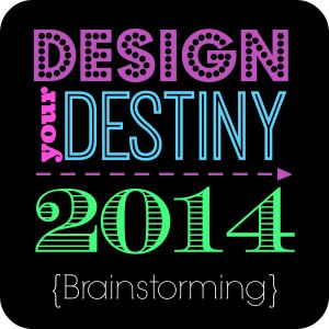 Design Your Destiny – Brainstorming {FREE Goal setting workshop series!}
