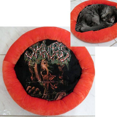 Skinless Band Shirt Cat Bed DIY Death Metal