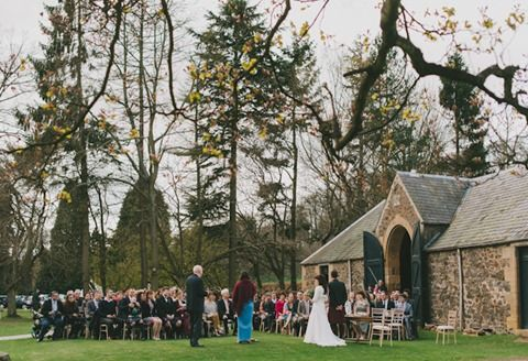 Butler and Taylor vintage barn wedding - The Byre at Inchyra
