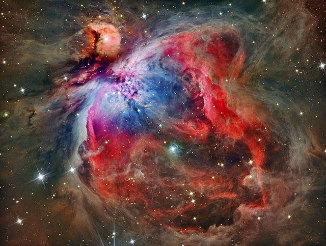 Linha D'Água Imagens Astronômicas: Nebulosa de Órion - Bela Inspiração