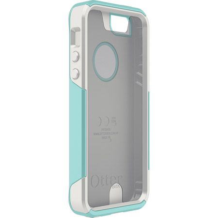 """Custom iPhone 5/5S Commuter Series case from OtterBox  I like the aqua outer case (what I have now). Maybe the white or """"admiral blue"""" inner slipcover?"""