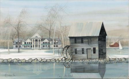 Canada Goose Gallery...Largest inventory of P. Buckley Moss art in the country in Waynesville, Ohio.