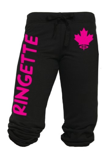 Ringette Drawstring Capri Sweats $19.99