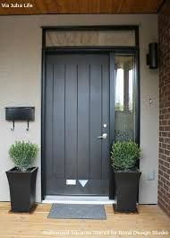 Image result for contemporary wooden front doors