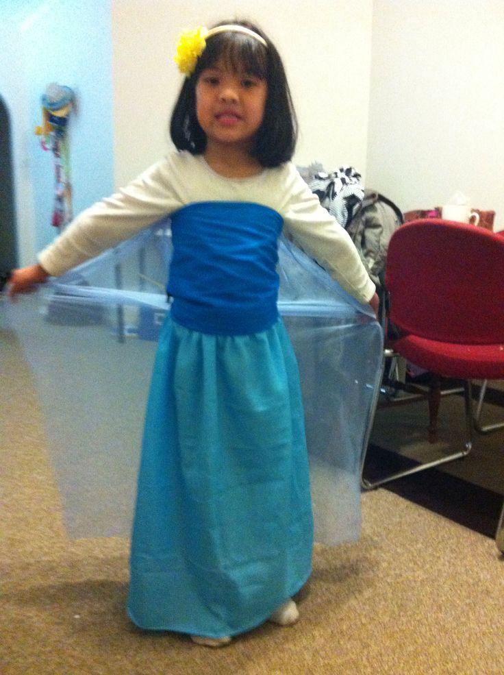 DIY frozen Disney dress