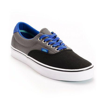 Boys Vans Shoes On Sale | Vans-Era-3-Tone-Black-%26-Pewter-Shoe