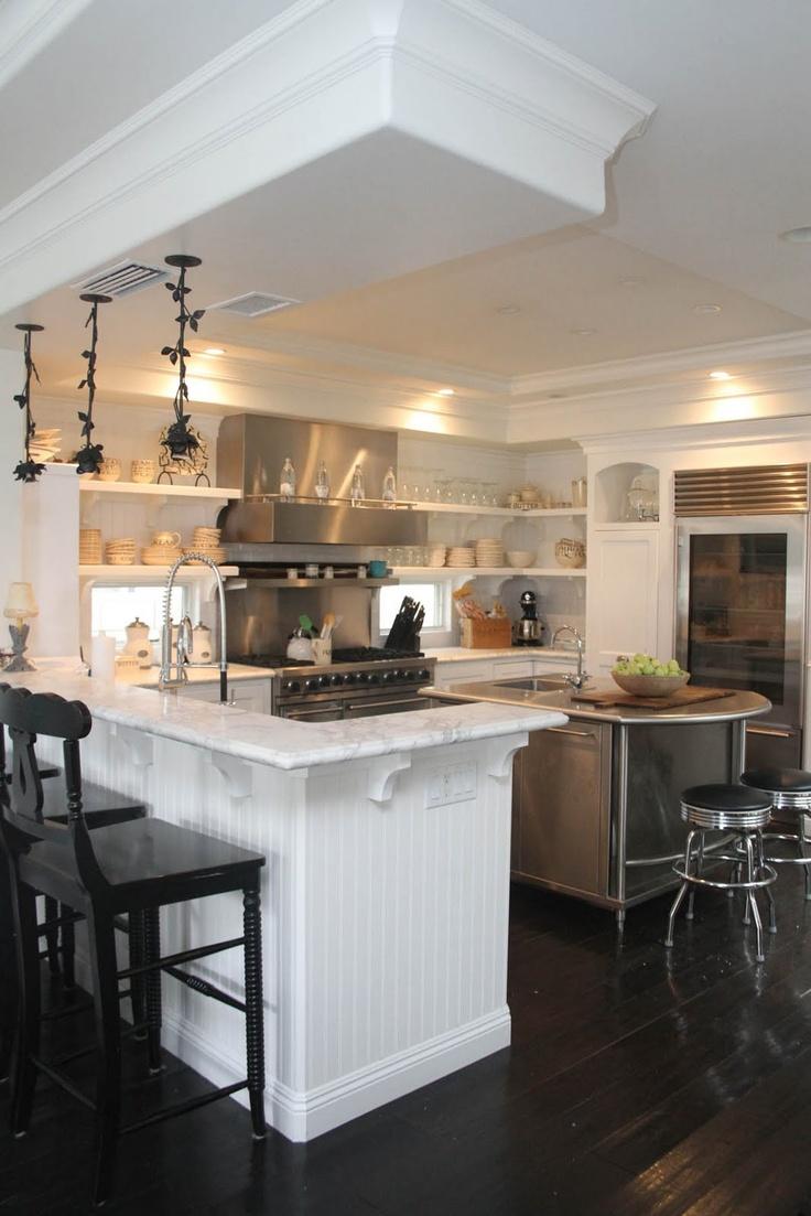beach house kitchen nickel oversized pendant. Bev\u0027s Beach House Kitchen......I Know. Kitchen Nickel Oversized Pendant