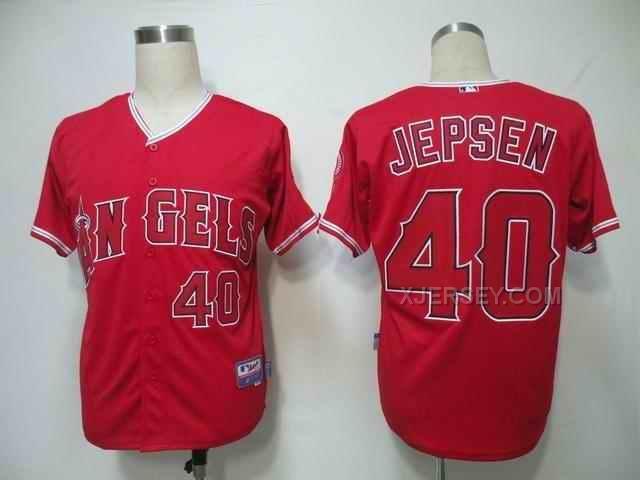 http://www.xjersey.com/angels-40-jepsen-red-jerseys.html ANGELS 40 JEPSEN RED JERSEYS Only $34.00 , Free Shipping!