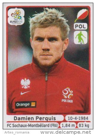 Damien Perquis Stickers Panini Euro 2012 UEFA