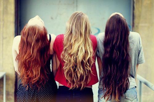 #redhead #blonde #brunette