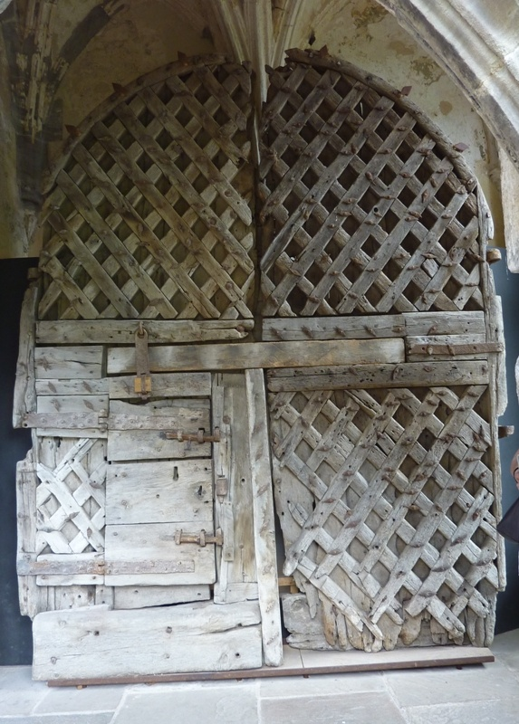 William Marshal's castle door at Chepstow Castle (Elizabeth Chadwick's Living The History blog)