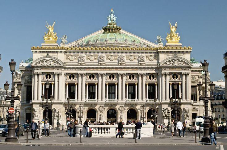 Charles Garnier – Opera w Paryżu (bryła, fasada)