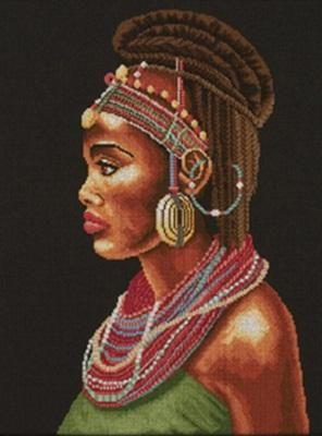 Modă africană cu bijuterii - kit