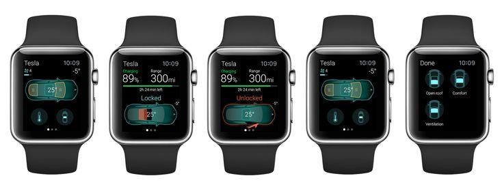 Apple Watch: Tesla / ELEKSlabs