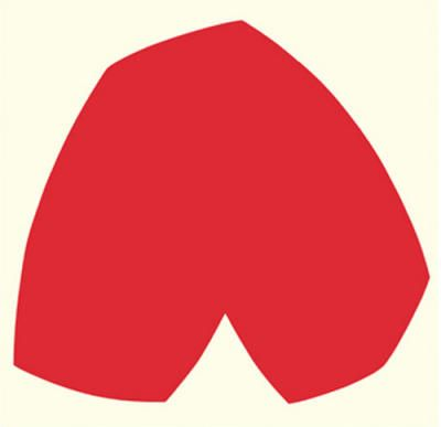 Ellsworth Kelly - i want this to go with my heart shaped nyc subway map!