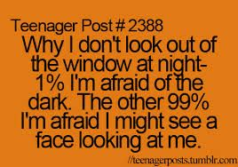 I am not afraid of the dark but WHAT IF THERE IS CLOWN STARING AT ME<<<<<<<<OMG SO TRUE