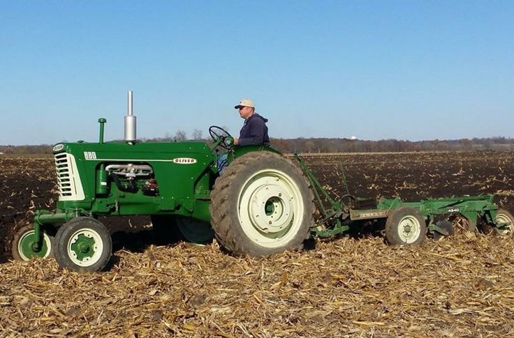 880 Ford Tractors : Oliver w plow tractor s just doing it