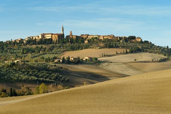 View from the Orcia Valley