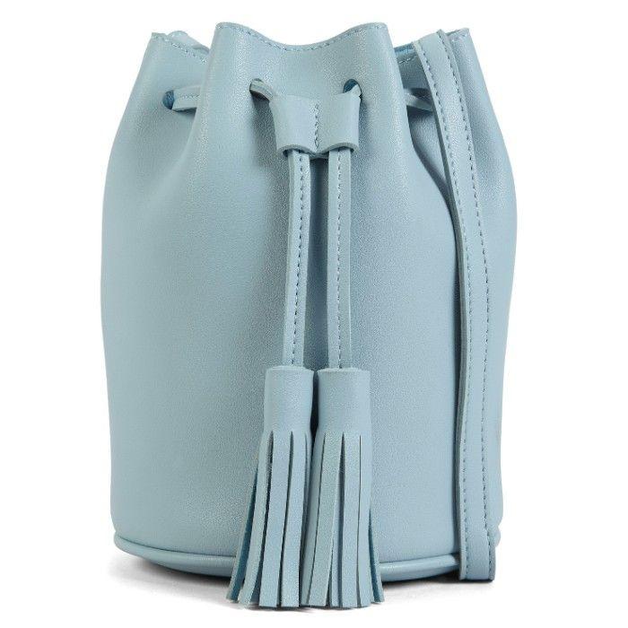 Sac seau en polyuréthane, de Hibou - Shopping mode : 20 sacs à main à moins de 150 $