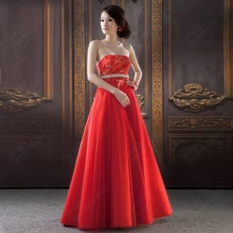 BallGown Strapless Tulle Floor-length Red Embroidery Cocktail Dress at http://www.simplydresses.co.nz/ballgown-strapless-tulle-floor-length-red-embroidery-cocktail-dress-spd-7.html