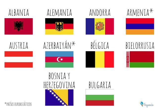 Banderas Del Mundo Para Imprimir Gratis En 2020 Banderas De