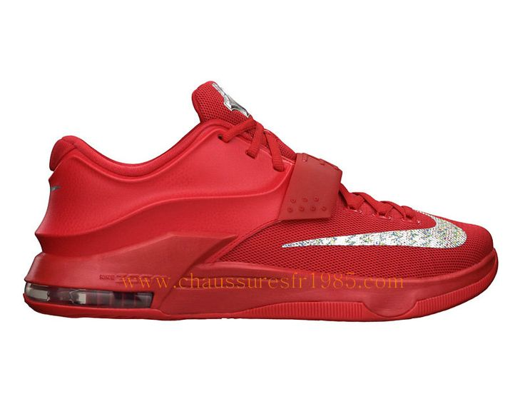 Nike Kd VII/7 Global Game Chaussures Pas Cher Pour Homme Rouge 653996-660