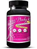 Natural Appetite Suppressant / Fat Burner For Weight Loss That Works (For Women) Energy Booster  NO JITTERS Natural Diet Pills (60 Capsules)  Petite Body Weight Loss Formula