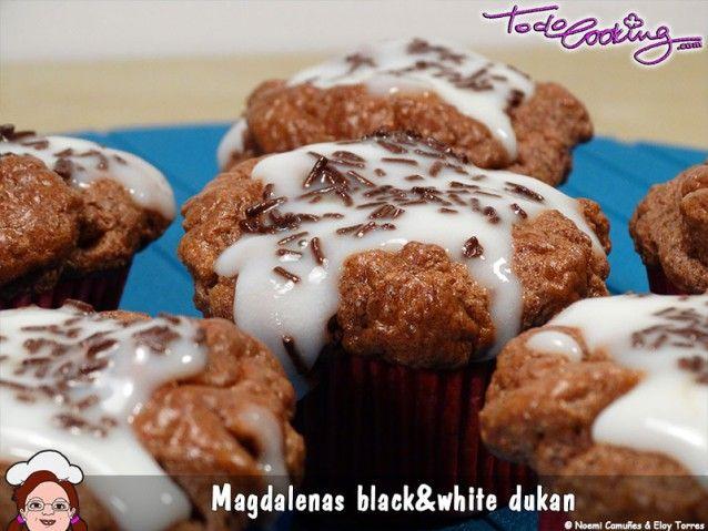 Magdalenas de chocolate sin azúcar (aptas Dukan) - todocooking