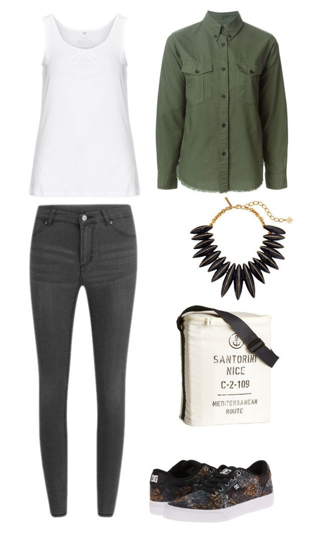 """Rx"" by laurrao on Polyvore featuring Cheap Monday, Isabel Marant, Zhenzi, DC Shoes, Oscar de la Renta and H&M"