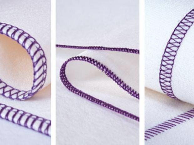La cadeneta es un tipo de costura en forma de cadena que se realiza solo con dos hilos.