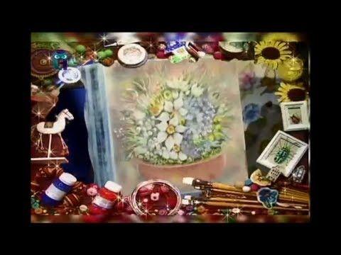 Декупаж шкатулки и вешалки. Расписываем их красками и объемными контурами. Мастер класс - YouTube