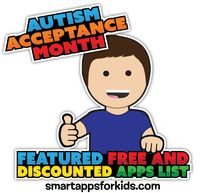 Autism Awareness Month - April 1 - Featured Free and Discounted Apps - including 31 free apps!