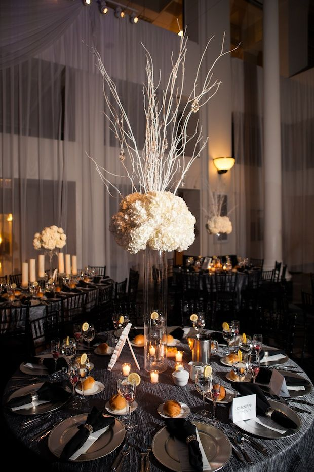 Best elevated centerpieces images on pinterest