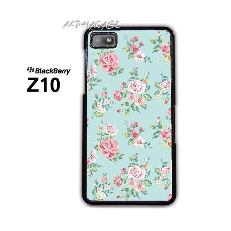 Beautiful Flowers BB BlackBerry Z10 Z 10 Case