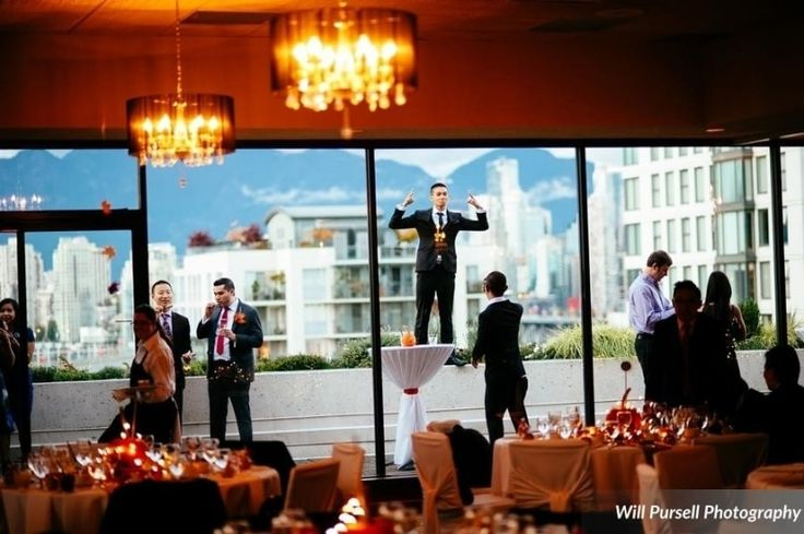 Diamond Ballroom & Catering is a Vancouver-based wedding and special event venue with spectacular panoramic views. This 5,000 sq ft space includes a patio and views of the English Bay, the mountains and downtown Vancouver's increible skyline over the