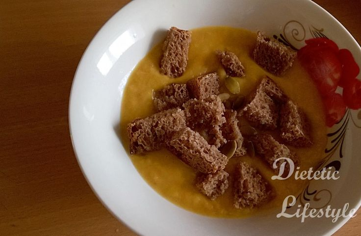 Krem z dyni z mleczkiem kokosowym - Dietetic Lifestyle